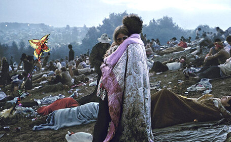 Nick si Bobbi la Woodstock