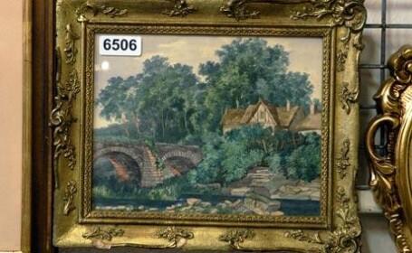 Tablourile pictate de Hitler vor fi scoase la licitatie