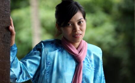 Kartika Sari Dewi Shukarno, femeia biciuita