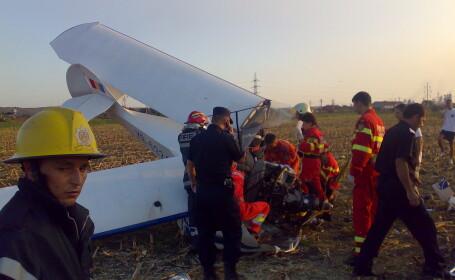Avion prabusit langa Targu Mures!