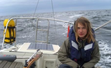 La 13 ani vrea sa faca inconjurul lumii pe o barca!