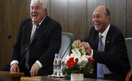 Constantin Simirad si Traian Basescu