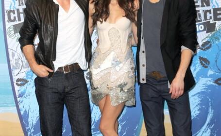 Ian Somerhalder, Nina Dobrev, Paul Wesley - The Vampires