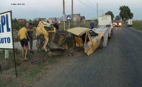 Doi frati, morti intr-un accident in Baia Mare, au fost inmormantati