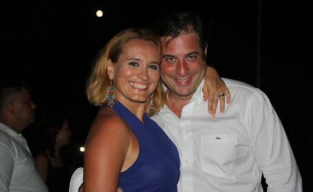 Andreea Esca si sotul ei