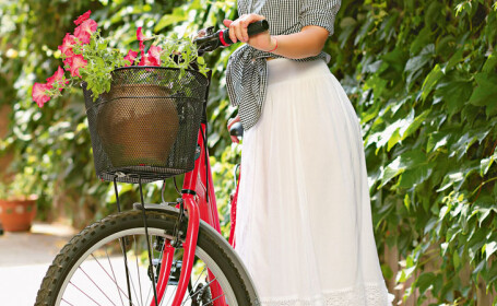 Amalia Enache, indragostita de bicicleta