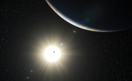 Astronomii au descoperit prima Lună din afara sistemului nostru solar