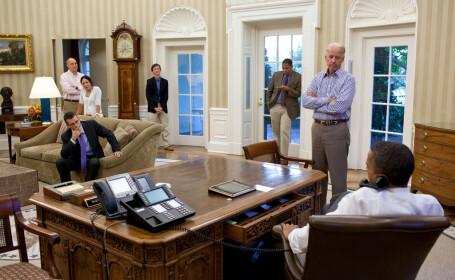 Barack Obama in Biroul Oval