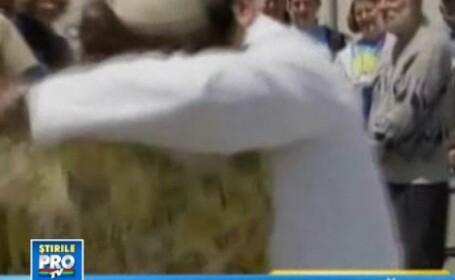 66 de ani de la sfarsitul celui de-Al Doilea Razboi Modial, sarbatoriti printr-un sarut