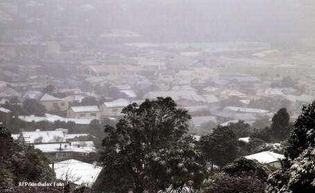 Ninsoare Noua Zeelanda