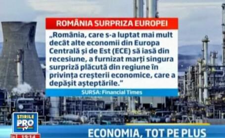 Romania, crestere economica