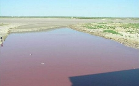 Lac rosu Texas