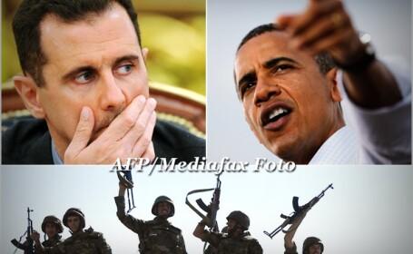 Bashar al-Assad si Barack Obama