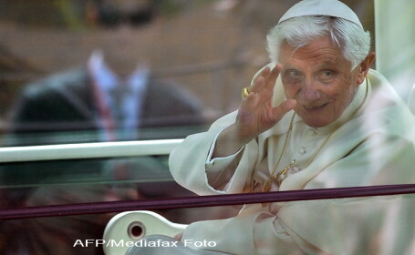 Papa Benedict in Spania