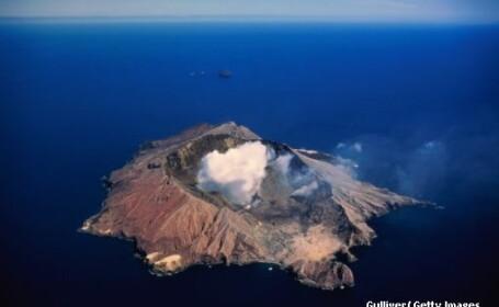 Vulcanul de pe Insula Alba