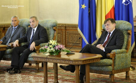 Florin Georgescu, Crin Antonescu