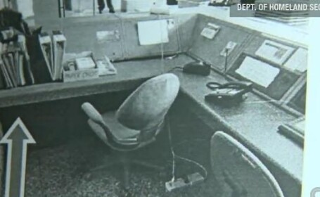 O bomba a stat nedetectata trei saptamani sub un birou intr-o cladire cu birouri FBI din Detroit
