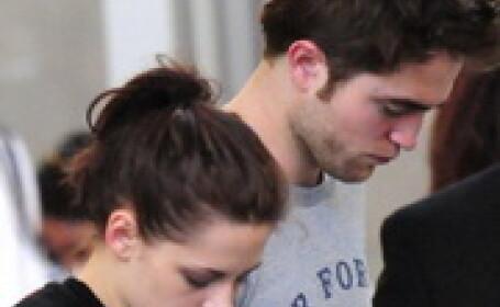 Robert Pattinson sufera dupa Kristen Stewart