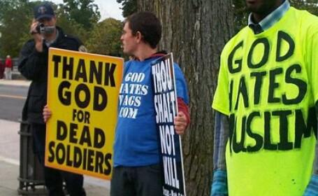 Cultul crestin care promoveaza intoleranta si ura fata de alte rase si religii. SUA, in alerta
