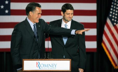 Gafa lui Mitt Romney in momentul in care l-a anuntat pe Paul Ryan ca vicepresedinte. VIDEO