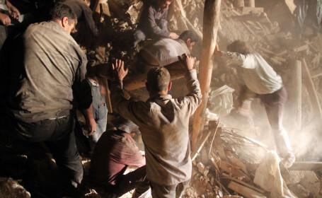Teheranul a revizuit in scadere bilantul cutremurelor si a pus capat operatiunilor de salvare