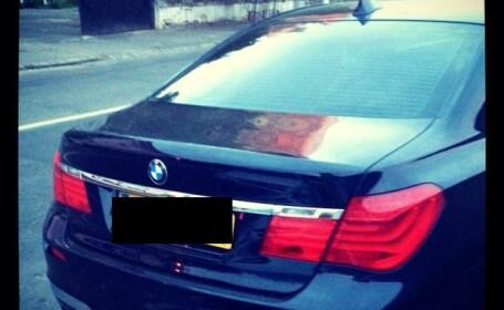 Numar de inmatriculare BMW