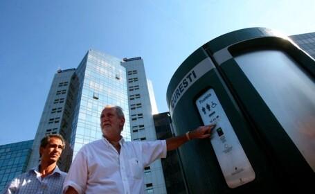 Primaria Capitalei va cheltui 14 milioane de euro pentru WC-uri publice dotate cu GPS