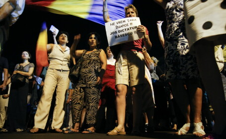 proteste Piata Universitatii
