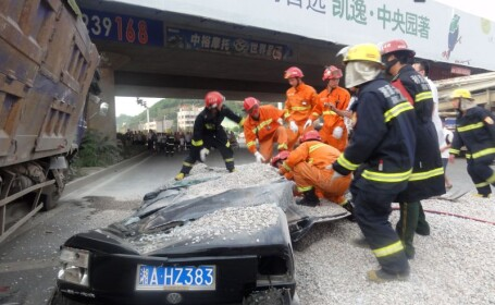 Accident China