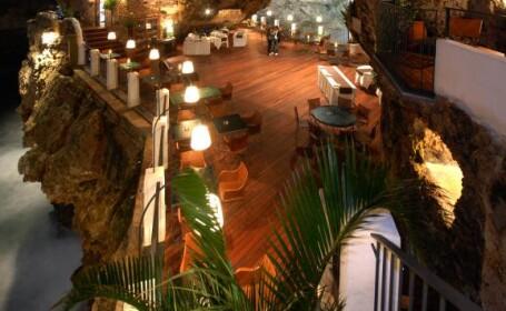 Restaurantul care iti ofera o priveliste unica. Ai impresia ca esti la marginea lumii: GALERIE FOTO