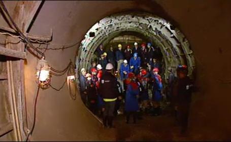 tunel hidroelectrica