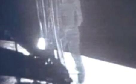 Primii pasi facuti de Neil Armstrong si echipa sa pe Luna. VIDEO NASA