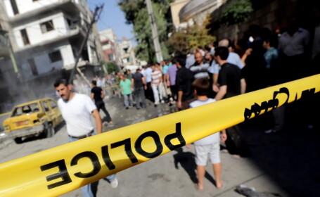 Siria, atentat Damasc