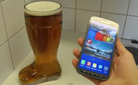 test, Samsung Galaxy S4 in bere