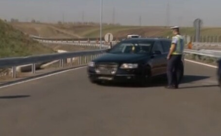 razie autostrada Timisoara