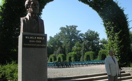 dezvelire bust Wilhelm Muhle
