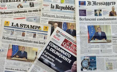 Lider al partidului lui Silvio Berlusconi: Italia risca sa ajunga la \