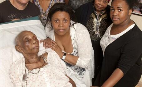 Familie, acuzata ca si-a rapit bunica de 107 ani din spital