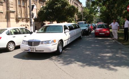 nunta tigani, lux, limuzina