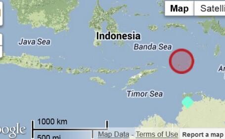 harta cutremur Indonezia