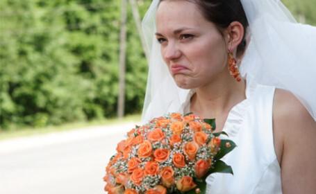 Momentul care i-a stricat toata bucuria in ziua nuntii. Ce cadou a primit o mireasa. FOTO