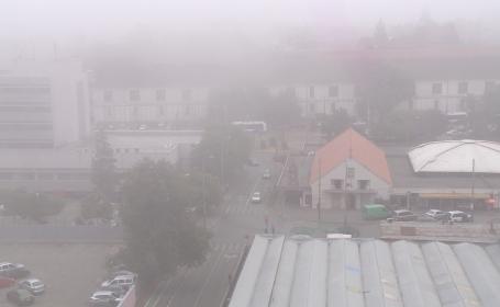 Cod galben de ceata in mai multe judete din Moldova si Transilvania valabil pana la 11.00