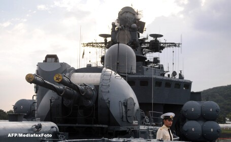 RIA Novosti: Rusia a initiat manevre navale in Marea Neagra