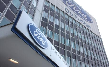 Uzina Ford de la Craiova va intrerupe productia 7 zile, in septembrie; angajatii - in somaj tehnic