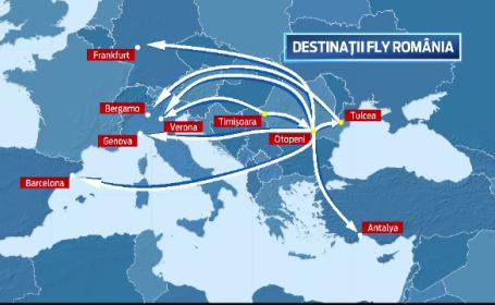Curse anulate, vacante ratate. Compania low-cost Fly Romania a anulat 80% din curse si a stricat planurile a 6.000 de oameni