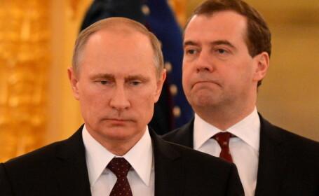 Putin si Medvedev