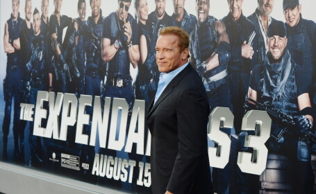Arnold Schwarzenegger in Expendables 3