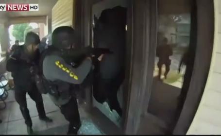 Intamplare ca in filme, in SUA. Trupele SWAT au intrat in forta peste o batrana, cu grenade, dupa ce au gresit adresa