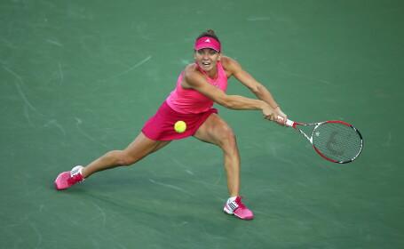 Simona Halep a fost eliminata de Maria Sharapova dupa un meci blestemat! \