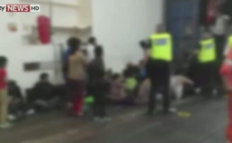 Imigranti container